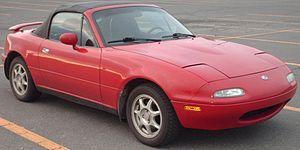 1993-1997 Mazda Miata photographed in Montreal...