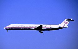 McDonnell Douglas MD-83 der German Wings