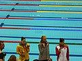 Medallistas de los 100m mariposa femenino en Londres 2012-2.jpg