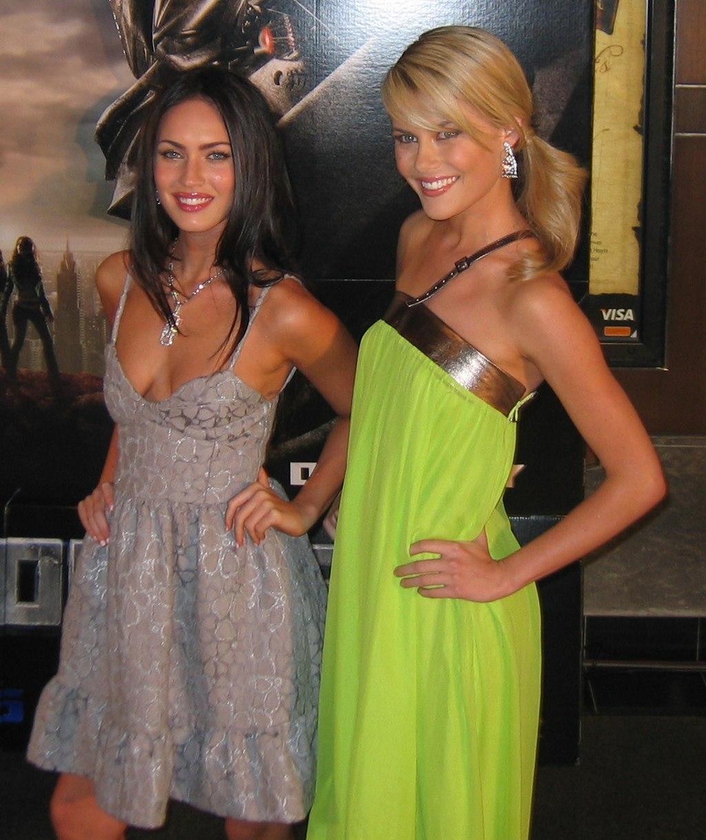 File:Megan Fox Rachael Taylor Transformers Sydney Premiere ... Rachael Taylor Transformers