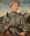 Meister LS - Bildnis eines Herrn Rehlinger (ritratto del gentiluomo Rehlinger (1540) - Gemäldegalerie , Berlino.jpg