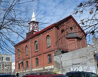 Melrose, Bronx - Melrose Community Reformed Church at E 156th Street and Elton Avenue