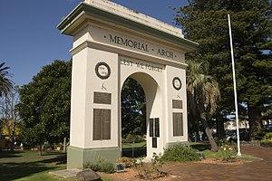 Kiama, New South Wales - Memorial Arch