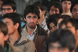 Baloch people - Afghan Baloch men in Zaranj, Nimruz Province