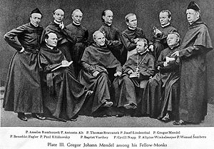 Mendel with other monks. Wellcome L0000527.jpg