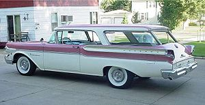 1958 Two Door Mercury Hardtop Station Wagon