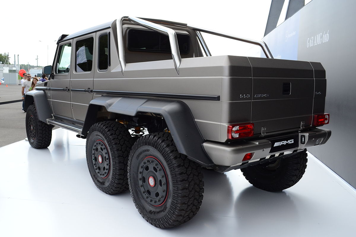 mercedes benz g63 amg 6x6 wikipedia. Black Bedroom Furniture Sets. Home Design Ideas