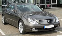 Mercedes CLS (C219) front 20100425.jpg