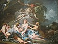 Mercury Entrusting the Infant Bacchus to the Nymphs of Nysa by Boucher, 1734.jpg