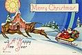 Merry Christmas, santa and his reindeer (NBY 4988).jpg