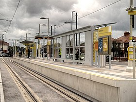 Metrolink Stop at Audenshaw, David Dixon, 3692299.jpg