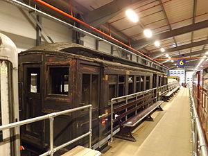 Metropolitan Railway electric multiple units - Image: Metropolitan Railway electric stock trailer carriage, 1904 01