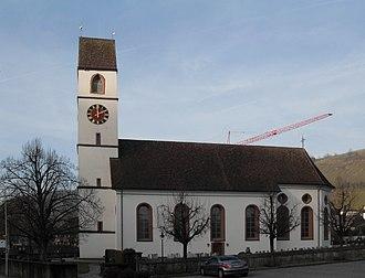 Mettauertal - Catholic parish church in Mettau