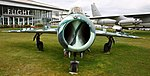 MiG 17 on display at the Museum of Flight (6194329008).jpg