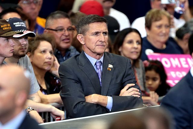 From commons.wikimedia.org: Michael Flynn {MID-202662}