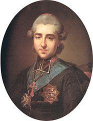 Portrait of Michał Jerzy Poniatowski (1736-1794)