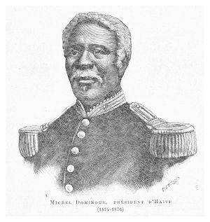 Michel Domingue - Image: Michel Domingue (President d'Haiti 1874 1876)