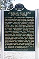 Michigan Meridian-Baseline State Park Initial Point Plaque.jpg