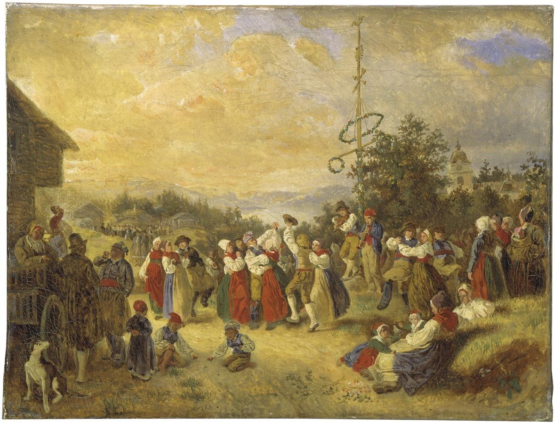 Midsummer Dance at Rättvik