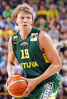 Lithuanian basketball player