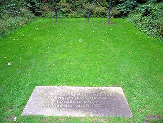 Ryvangen Memorial Park - Execution site with commemorative plaque
