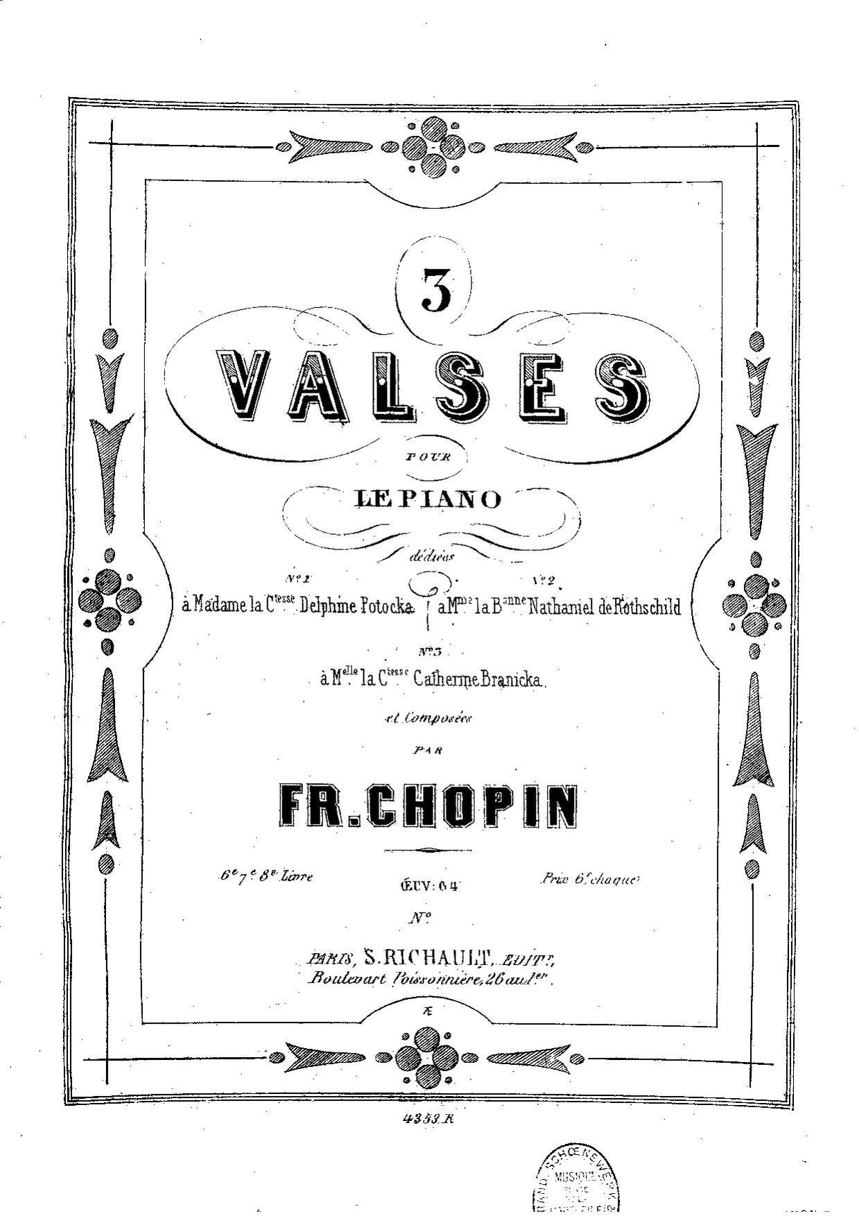 chopin valse op 64 no 2 sheet music pdf