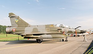 Mirage 2000 of French Air Force (reg. 362), static display, Radom AirShow 2005, Poland.jpg