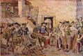 Miséria do Século XVII, uma Penhora (Roque Gameiro, Quadros da História de Portugal, 1917).png