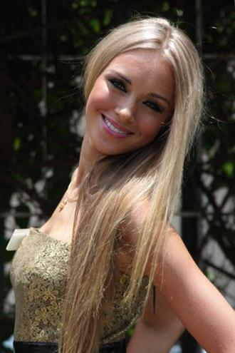 Miss World - Image: Miss Russia 08 Ksenia Sukhinova