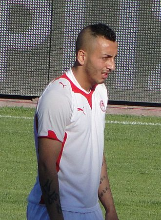 Kostas Mitroglou - Mitroglou playing for Olympiacos in May 2010