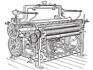 Lancashire Loom - Marsdens:1892 diagram