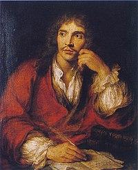 Molière, porträtterad av Charles-Antoine Coypel (1694-1752)