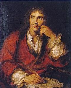 Molière, prtrætteret af Charles Antoine Coypel i 1730.