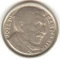 Moneda 10 centavos - Peso Moneda Nacional - Argentina - 1950.png