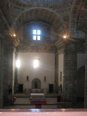 Monfero Abbey - Church interior