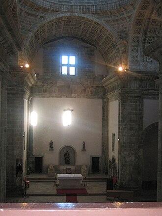 Monfero Abbey - Church interior