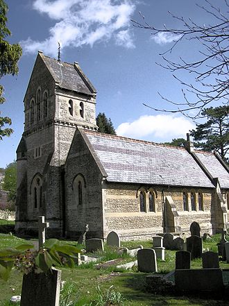 Monkton Combe - Image: Monkton combe church arp