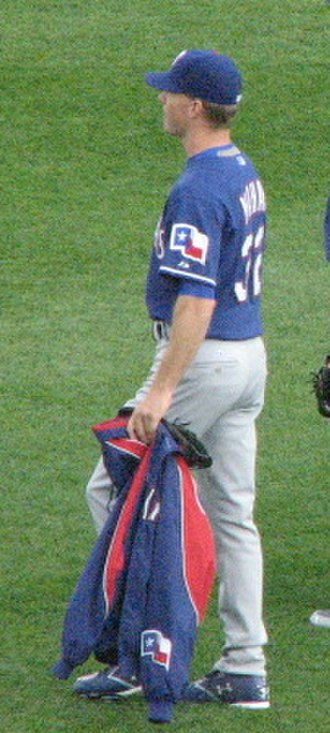 Ron Mahay - Mahay with the Rangers in 2007.
