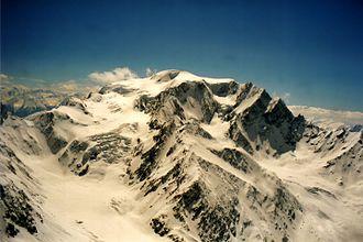 Mont Vélan - Image: Mont Vélan from Plateau Du Couloir