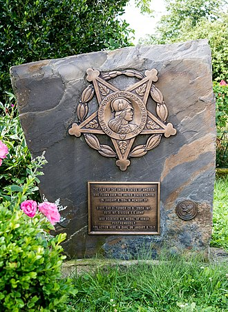 Dahl, Luxembourg - Medal of Honor recipient Day G. Turner Memorial in Dahl.