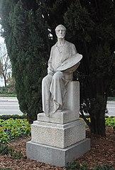 Monument for Eduardo Rosales