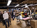 Moog Music factory tour, Moogfest2011.jpg