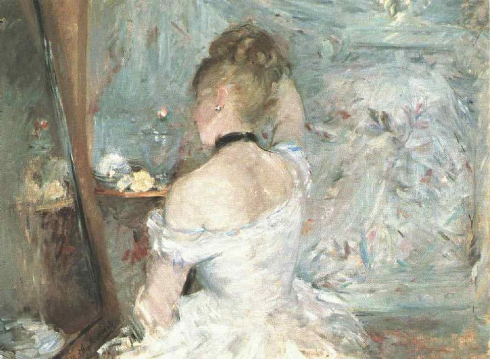 Morisot Lady at her Toilette