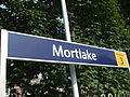 Mortlake station signage 2012.JPG