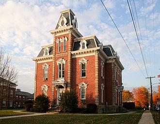 Morrow County, Ohio - Old Morrow County Jail