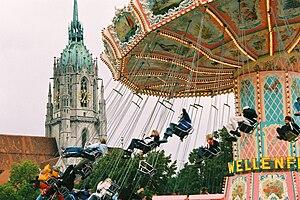 Munich Oktoberfest: chairoplane Deutsch: Oktob...