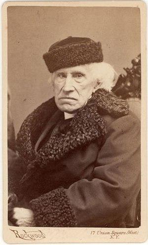 William Augustus Muhlenberg - Muhlenberg in later years