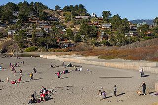 Muir Beach, California Census designated place in California, United States