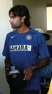 Munaf Patel Indian cricketer
