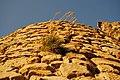 Mura di una torre del Castello di Pietrapertosa.jpg